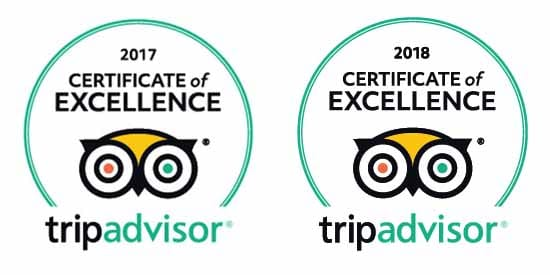 Big Foot Tour Certificate of Excellence Tripadvisor 2017 2018