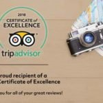 Tripadvisor Certificate of Excellence 2018 Big Foot Tour
